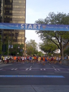 Starting Line of the Crescent City Classic