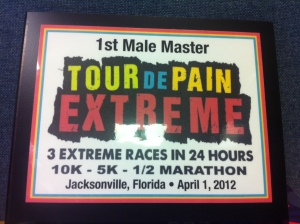 Tour de pain award