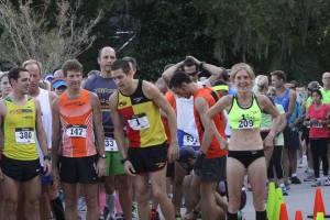 You'll find some top talent on the Start line at the Mandarin 10K. Flat and fast course.